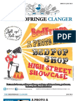 The Bedfringe Clanger - July 2013