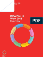 RIBA Plan of Work 2013 - Overview