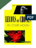 Leçons de Choses Lasalmonie Fournier 02 CM1CM2 Delagrave