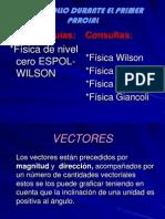 1.- VECTORES