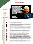 Newsletter di MARZO 2013 del Gruppo Consiliare PD di Zona 7-Milano
