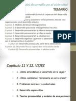 Tema 11 y 12 Vejez