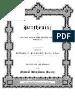 Parthenia Introduction