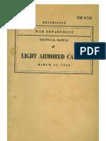 TM 9-743 ARMORED CAR M8, 1943