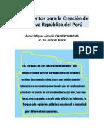 Nueva República del Perú+Introducción