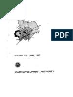 Building Bye Laws- New Delhi