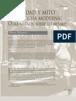 Nomez_identidad y Mito en La Poesia Chilena