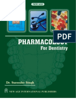 Pharmacology for Dentistry