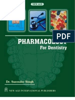 Pharmacology for Dentistry | Medical Prescription | Topical Medication