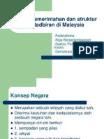 Sistem Pemerintahan Malaysia
