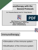 Immunotherapy With Banerji Protocol