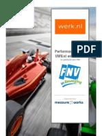 FNV - Performance Scan Werk Nl April-mei 2013