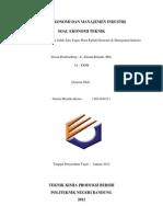 Ekonomi Teknik_ Gustin MK (091424012)
