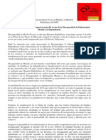 Nota Prensa 5 Julio