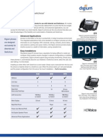 Digium IP Phones Datasheet