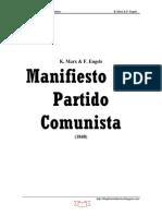 MARX Karl Engels Manifiesto Del Partido Comunista
