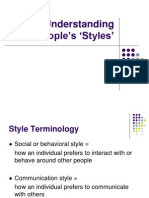 understanding people's 'styles'.ppt