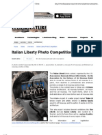 3.7.2013, 'ITALIAN LIBERTY Photo Competition', Floornature