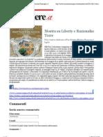 14.6.2013, 'Mostra Su Liberty e Razionalismo Al Torre', Corriere Romagna