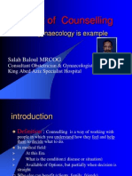Art of Counseling gynecology is example.ppt