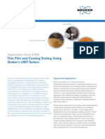 Bruker-AN1001-Thin Film and Coating Testing Using UMT Testers-RevA0