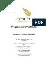 Programa Do Vestibular
