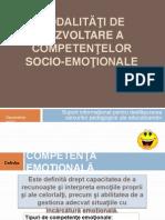 Dezvoltarea Competentelor Socio-emotionale[1]
