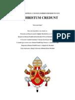 Christum Credunt 2013 Portuguese