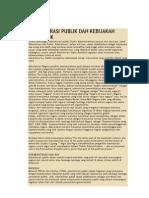 Administrasi Publik Dan Kebijakan Publik