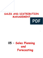 05 - Sales Planning & Forecasting