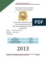 INFORME 8 - CALOR ABSORBIDO DISIPADO-DISIPADO Y CONVECCIÓN