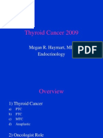 Thyroid Cancer 2009