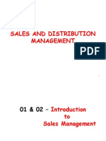 01 & 02 - Introduction to Sales Management