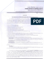 Ug Pg and Phd Registration Notice July 2013