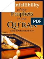 The Infallibility of the Prophets in the Quran - Sayyid Muhammad Rizvi - XKP