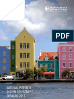 Rapport National Integrity System Assessment Curacao 2013