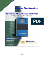 853 Profibus Manual