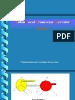 DLTM Coordinate System