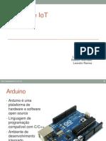 2013 EADuino Arduino e IoT FATEC