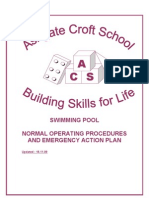 Swimming Pool Normal Operating Procedure and Emergency Action Plan