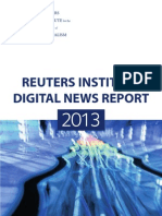 Digital News Report 2013 from Reuters Institute for the Study of Journalism
