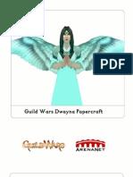 Guild Wars Dwayna Papercraft Pattern
