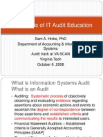 the-status-of-it-audit-education3432.ppt