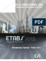 ETABS2013 Introductory Tutorial