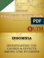 ECHELON Presentation Review