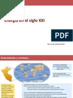 Energía en el siglo XXI PERU