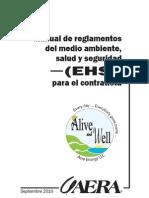 Contractor EHS Handbook Spanish