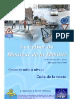 Cahier Mobilite 0705
