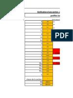 Verification d'Une Section a La Flexion + Effort Normal