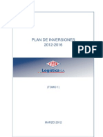 Ypfb Logistica_plan de Inversiones